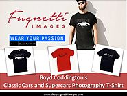 Boyd Coddington's Photography T-Shirt of Classic Cars and Supercars