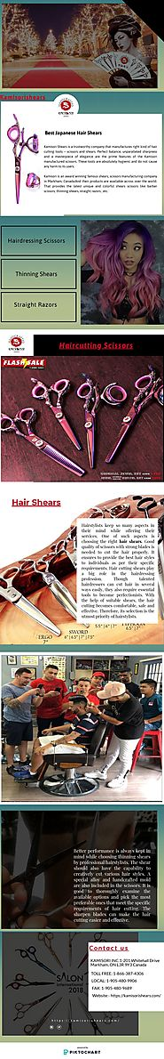 Thinning Shears | Piktochart