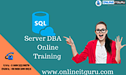Sql Server dba Online Training | Enroll for free Demo