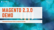 Magento 2.3.0 Demo - Provided Sample Data & Admin Access | Tigren