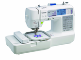 Brother SE400 Combination Computerized Sewing and 4x4 Embroidery Machine With 67 Built-in Stitches and more