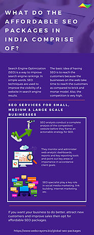 Affordable SEO Packages | Web Crayons Biz