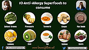 10 Superb Anti-Allergy Superfoods to consume | Lose Weight Loss
