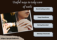 Useful ways to take care of nails | ProjectBall