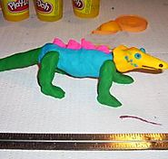 Make a 3d Stop Motion Animation using Playdoh and a Wire Armature