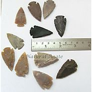 shop Indian Arrowheads at natural agate