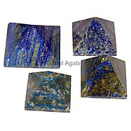 Buy Lapis Lazuli Pyramids at Natural agate