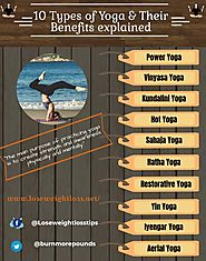 10 types of Yoga and their benefits explained | Lose Weight Loss