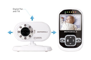 "Motorola MBP26 Wireless 2.4 GHz Video Baby Monitor with 2.4"" Color LCD Screen, Infrared Night Vision and Remote Camer..."