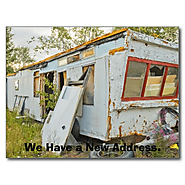 Change of Address Card: Trailer Home