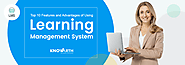 Top 10 Features and Advantages of Using Learning Management System