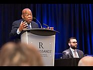 SLJ Summit: Congressman John Lewis, Andrew Aydin on 'March' | SLJ Summit 2016