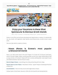 PPT - Enjoy your Vacations in Greek Islands PowerPoint Presentation - ID:7834493