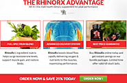 Buy Rhino RX Muscle Booster Supplement, Reviews, Exclusive Discounts