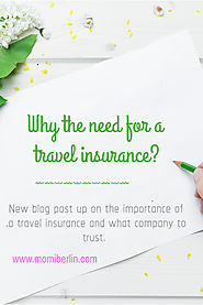 MOMI SHARES| Why the need for a travel insurance? | MOMI BERLIN