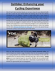 Zeitbike enhancing your cycling experience