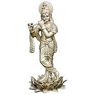 Matchless Gifts | Buy Beautifully Crafted Krishna Poly resin Murti at Rs 2500/-
