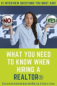Top Interview Questions To Ask When Hiring a Top Realtor
