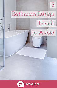 5 Bathroom Design Trends to Avoid