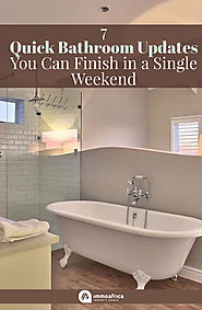 7 Quick Bathroom Updates You Can Finish in a Single Weekend