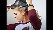 How to wear a baseball cap with a ponytail