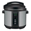 Cuisinart EPC-1200PC 6-Quart Electric Pressure Cooker, Brushed Stainless and Matte Black - Club Model
