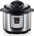 Instant Pot IP-DUO60 7-in-1 Programmable Pressure Cooker with Stainless Steel Cooking Pot and Exterior, 6-Quart/1000-...