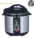 Stainless-steel Cooking Pot/ 6-in-1 Electric Pressure Cooker/Slow Cooker 8 Quart Gw22606