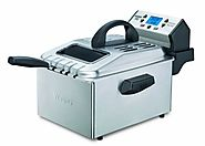 Waring Pro DF280 Professional Deep Fryer, Brushed Stainless
