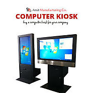 Computer Kiosk manufacturer in India | Amcofab