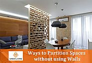 Ways to Partition Spaces without using Walls - Urban Living Designs