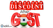 Gst On Discounts After Gst Registration - Applicability, Procedure Or Invoicing