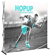 Hop Up Display – Dynamic Trade Show Appearance