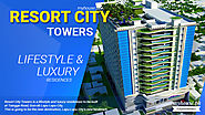 Website at http://myhouse.ph/resort-city-towers/