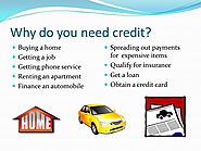 Main Inclusions of Credit Applications