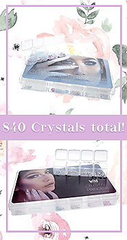 Swarovski Crystal Nail Art Kit for Sale Online | Crystal Princess – CrystalPrincess