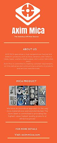 Axim Mica: Best Mica Material and Mica Product Supplier