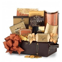 Gourmet Treasure Chest - Gift Basket for Men -OR- Valentines Day Gift Basket for Boyfriend, Husband For Him.