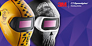 New 3M Speedglas 100 Graphic Welding Helmets | AWS
