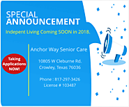Senior Care | Residential Care | Anchor Way