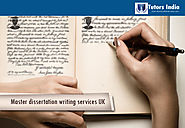 Website at https://www.tutorsindia.com/our-services/masters-dissertation-writing-services/