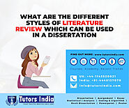 Literature Review Writing Experts UK