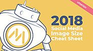 2018 Social Media Image Size Cheat Sheet [Infographic] | Social Media Today