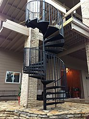 Spiral Staircase in Lago Vista Texas!