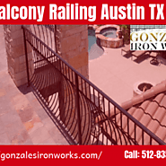 Balcony Railing Austin TX | Gonzales Iron Works