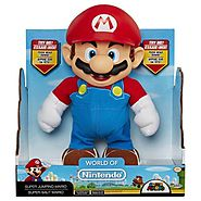 Authentic Animated Super Jumping Mario