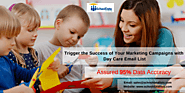Trigger the Success of Your Marketing Campaigns with Daycare Mailing List – School Data Lists