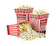Popcorn Boxes, Popcorn Boxes Wholesale, Mini Popcorn Boxes, Popcorn Packaging