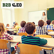 Education industry mailing list | B2B Leo