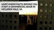 Things to Consider Before Signing a Commercial Lease
